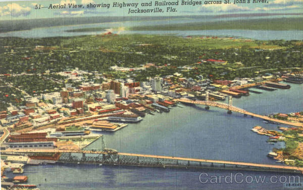 Aerial View Johnsonville Florida