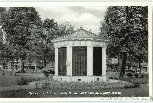 Quincy And Adams County Honor Roll Memorial Illinois