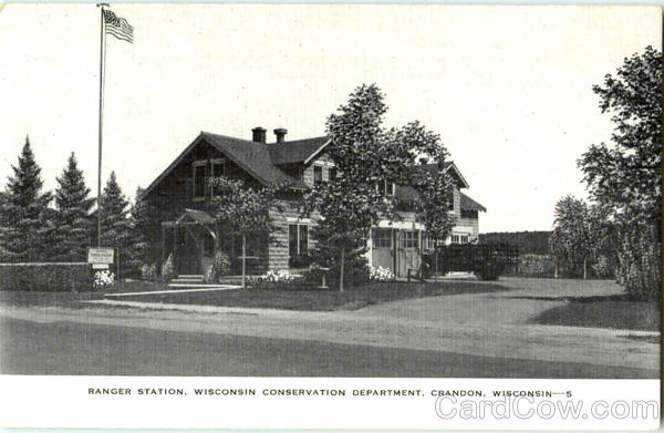 Ranger Station Crandon Wisconsin