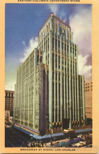 Eastern Columbia Department Store, Broadway at Ninth Los Angeles California