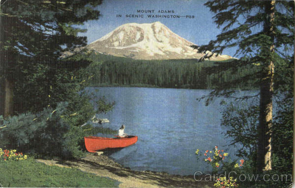 Mount Adams In Scenic Washington