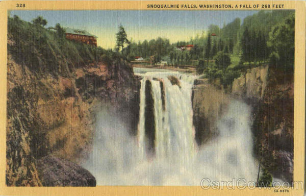 Snoqualmie Falls Scenic Washington