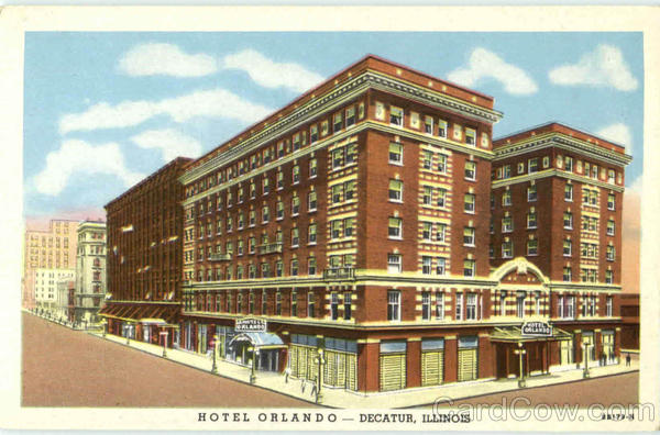 Hotel Orlando Decatur Illinois