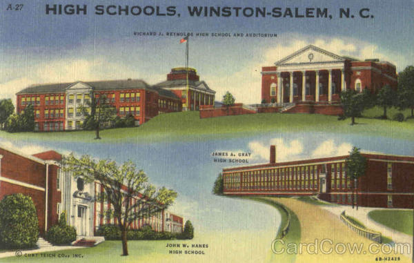 High Schools Winston Salem North Carolina