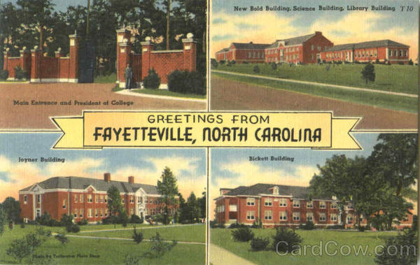 Greetings From Fayetteville North Carolina Black Americana