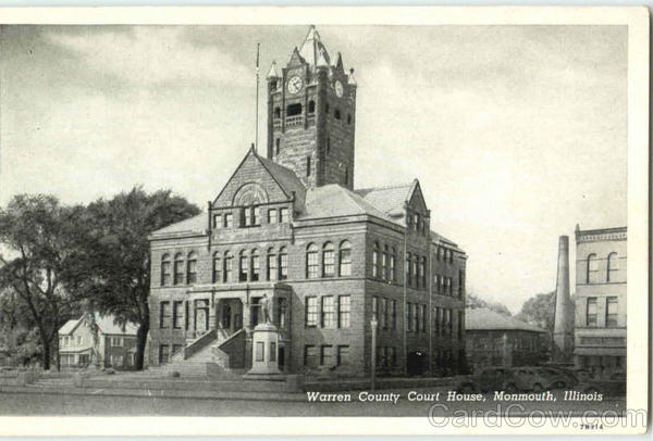Warren County Court House Monmouth Illinois