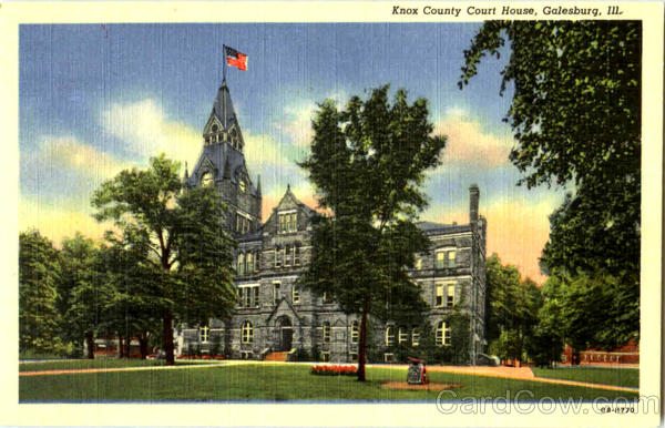 Knox County Court House Galesburg Illinois
