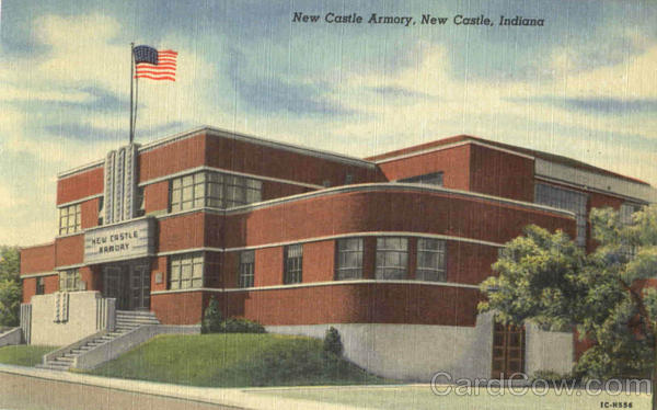New Castle Armory Indiana
