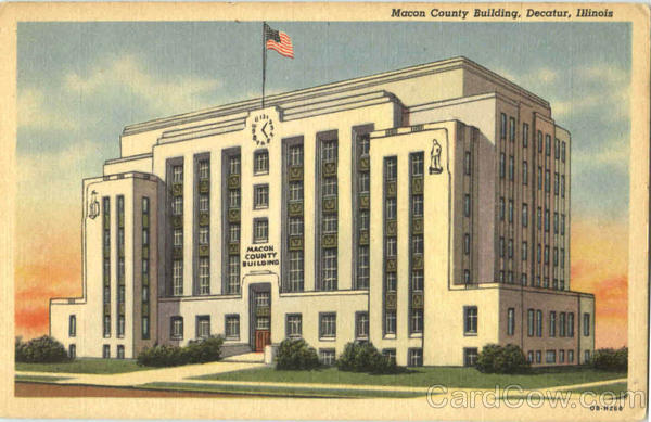 Macon County Building Decatur Illinois