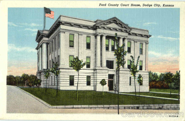 Ford County Court House Dodge City Kansas