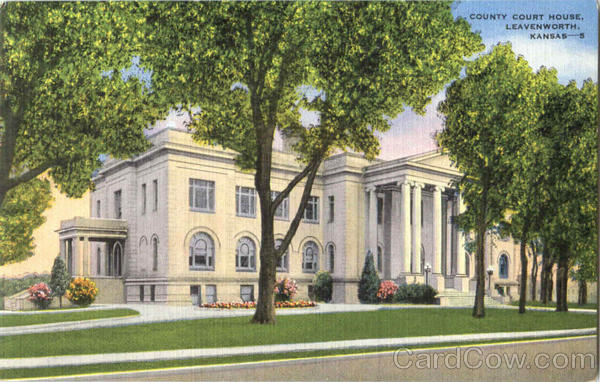 County Court House Leavenwoth Kansas