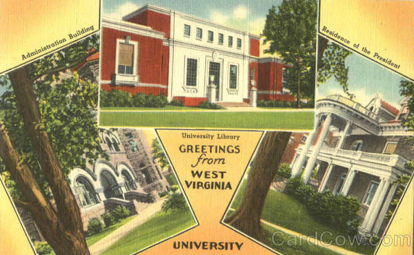 Greetings From West Virginia University, University Library