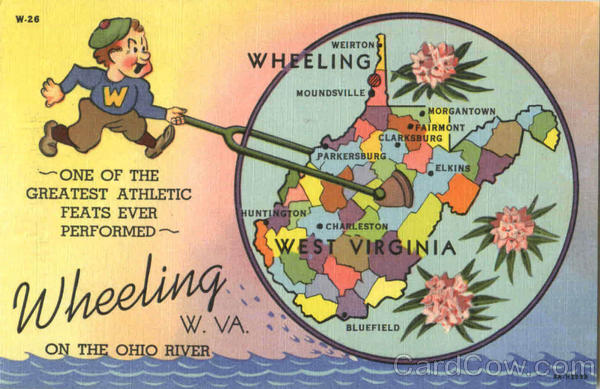 Wheeling On The Ohio River West Virginia