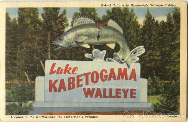 A Tribute To Minnesota's Walleye Fishing Lake Kabetogama