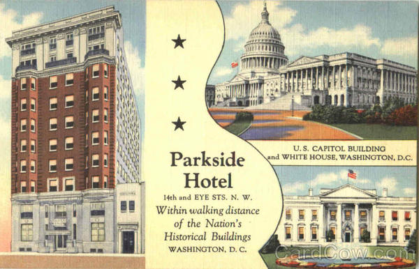 Parkside Hotel, 14th and Eye Sts. Washington District of Columbia