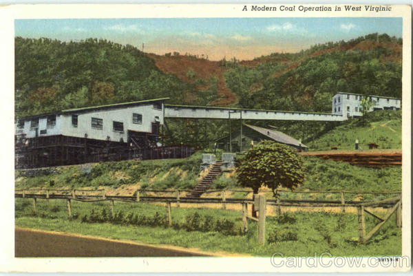 A Modern Coal Operation In West Virginia Mining