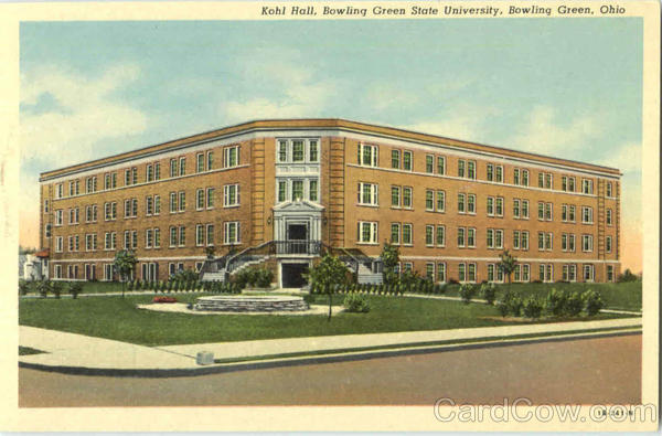 Kohl Hall, Bowling Green State Univerisity Ohio