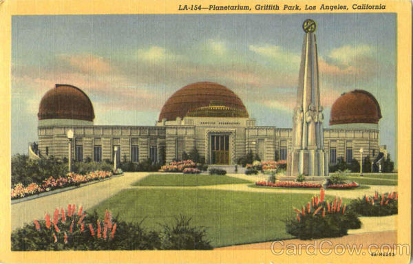 Planetarium, Groffith Parl Los Angeles California