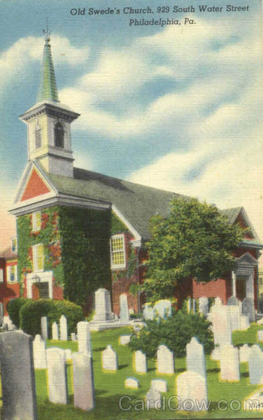 Old Swede's Church, 929 South Water Philadelphia Pennsylvania