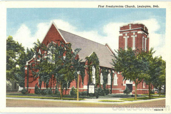 First Presbyterian Church Lexington Nebraska