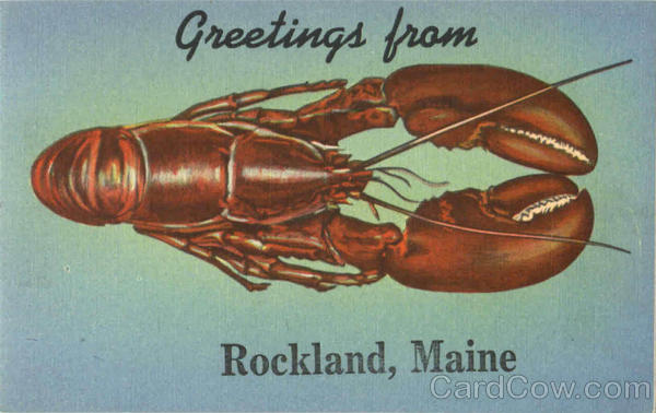 Greetings From Maine Rockland Fish