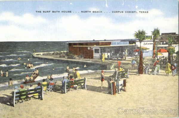 The Surf Bath House North Beach Corpus Christi Texas