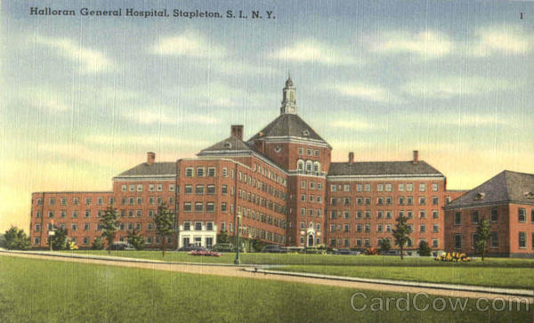 Halloran General Hospital Stapleton New York