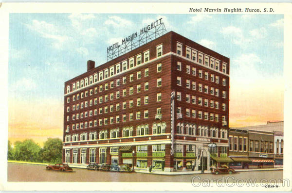 Hotel Marvin Hughitt Huron South Dakota