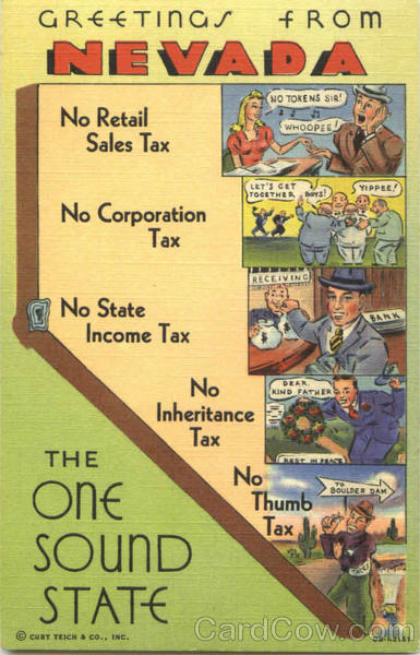 Taxes - Greetings From Nevada Money