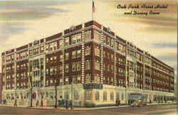 Oak Park Arms Hotel And Dining Room Postcard
