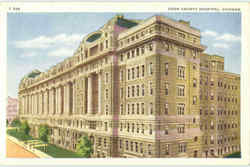 Cook County Hospital Postcard