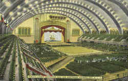 World's Largest Convention Hall And Auditorium Postcard