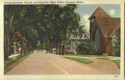 Congregational Church And Hospital, Main Street