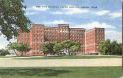 New Main Building Legion Hospital Postcard
