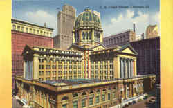 U. S. Court House Postcard