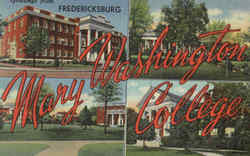 Greetings From Fredericksburg, Mary College
