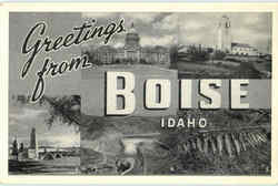 Greetings From Boise