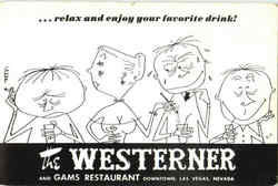 The Western And Games Restaurant Postcard