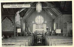 Interior Trinity Episcopal Church