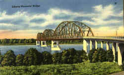 Liberty Memorial Bridge Postcard