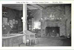 Lobby Of The Inn Walter League Camp