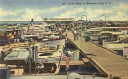 Yacht Basin At Morehead City Postcard