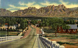 Organ Mountains And Viaduct