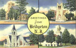 Greetings From Bridgeton Postcard