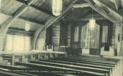 Interior Of Lakeside Chapel, Casowasco