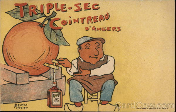 Triple-Sec Cointreau D'Angers Maurice Mercier Advertising