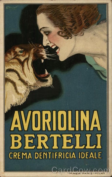Avoriolina Bertelli Creme Dentifracia Ideale Advertising