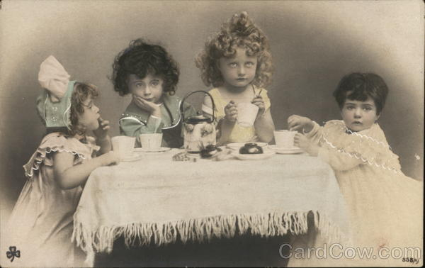 Tea Party for the Girls, Tinted