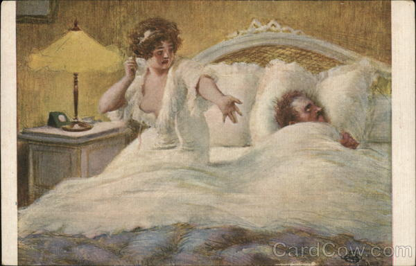Couple Arguing in Bed Albert Andre Guillaume Couples