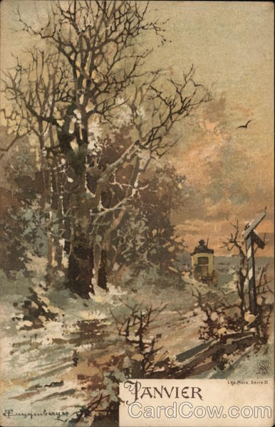January Scene Guggenberger Months